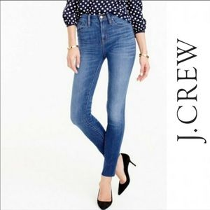 J Crew Lookout High Rise Light Wash Skinny Jeans